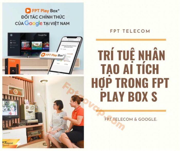 FPT Play Box S sẽ là một trợ lý ảo của bạn thông qua trí thông minh nhân tạo AI.