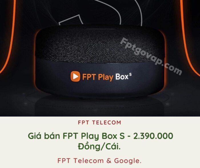 Giá bán của FPT Play Box ở thị trường Việt Nam đang là 2,3 triệu/cái.