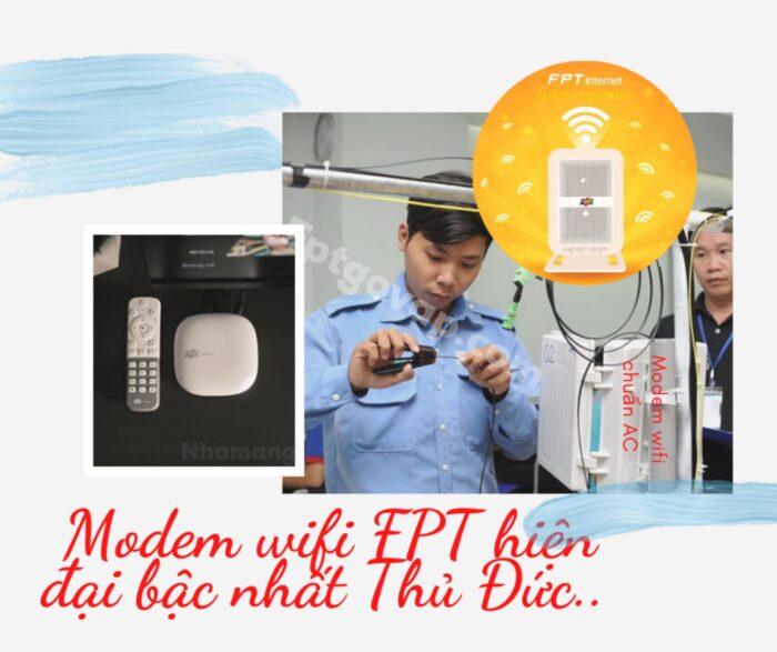 Modem wifi FPT là dòng modem cao cấp nhất hiện nay.