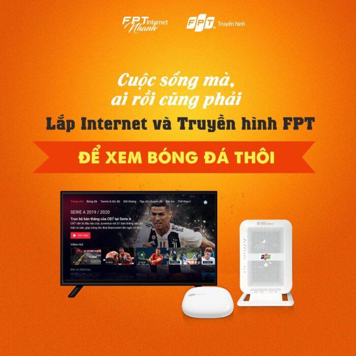 Modem wifi và đầu thu truyền hình FPT có công nghệ cao vượt trội.